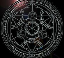 Fullmetal Alchemist transmutation circle by RamsesXll