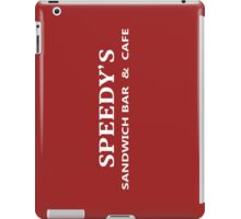 BBC Sherlock Speedy's Cafe - Inspired Logo iPad Case/Skin