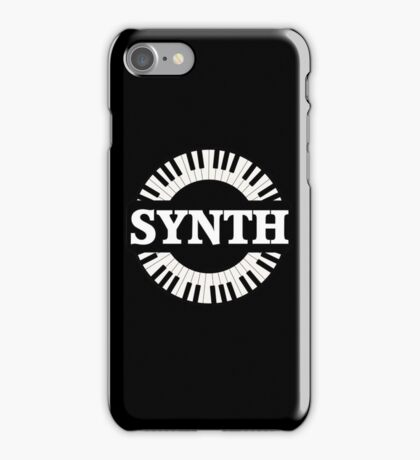 Synth Keyboard iPhone Case/Skin