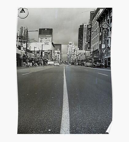 Street Walking Poster