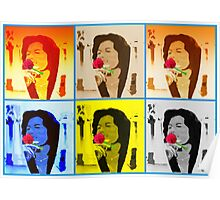 Lady Rose -  popart feeling Poster