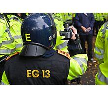 Cops. Camera. Action! Photographic Print