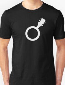 Male Guitarist Symbol T-Shirt