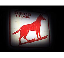 Dingo Flour Sign - Fremantle Western Australia  Photographic Print