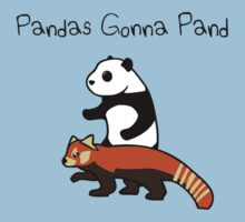 Pandas and Red Pandas Gonna Pand by jezkemp