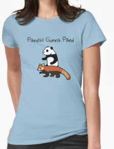 Pandas and Red Pandas Gonna Pand Womens Fitted T-Shirt