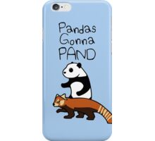 Pandas and Red Pandas Gonna Pand iPhone Case/Skin