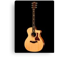 Wonderful Taylor Acoustic Guitar  Canvas Print