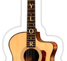 Wonderful Taylor Acoustic Guitar  Sticker