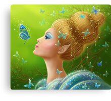 Magic butterflies Canvas Print