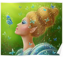 Magic butterflies Poster