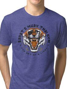 Sagat's Muay Thai Gym Tri-blend T-Shirt