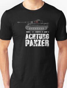 ACHTUNG PANZER - TIGER TANK T-Shirt