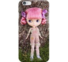 Summer Blythe in the garden - portrait version iPhone Case/Skin