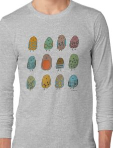 assorted birds Long Sleeve T-Shirt