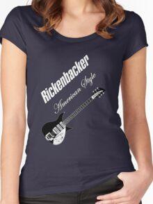 Rickenbacker American Style  Women's Fitted Scoop T-Shirt
