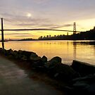 Lions Gate Bridge by Tracy Riddell