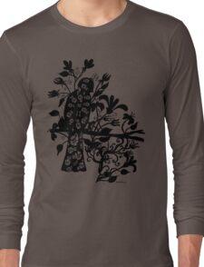 queen black bird  Long Sleeve T-Shirt