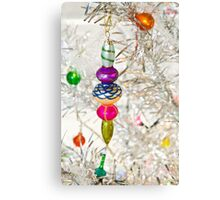Vintage Christmas Decoration Canvas Print