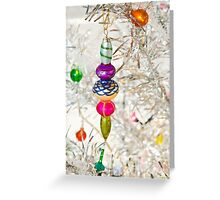 Vintage Christmas Decoration Greeting Card