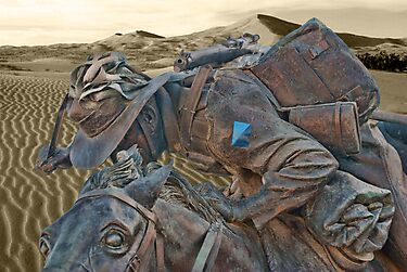 4th Australian Light Horse Regiment - Trooper Ion Idriess by Philip Golan