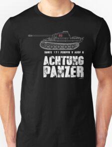 ACHTUNG PANZER - PANTHER TANK T-Shirt