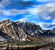 Mountain Scape by Bob Webb