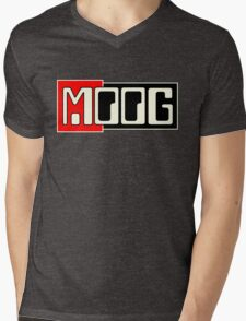 Vintage Moog  Synth Mens V-Neck T-Shirt