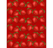 Strawberries and More Strawberries Photographic Print