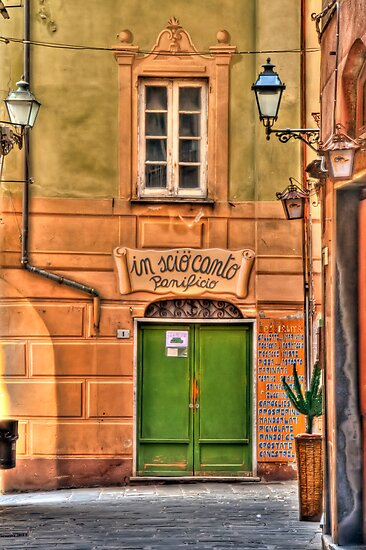 Camogli alley by oreundici