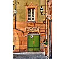 Camogli alley Photographic Print
