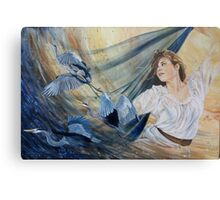 the Wisdom of the Divine Feminine being released Metal Print