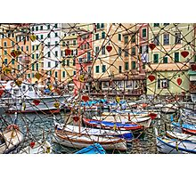 Camogli love Photographic Print