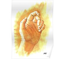 hand Poster