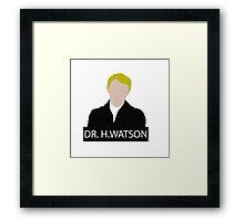 Doctor John Hamish Watson Framed Print