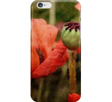 ... and red grow the poppies ... iPhone Case/Skin