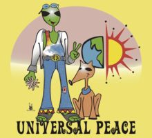 universal peace One Piece - Short Sleeve