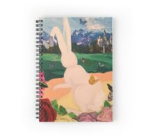 Bunny Visits the Castle Spiral Notebook