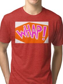 Whap! Batman 1960 punch Tri-blend T-Shirt