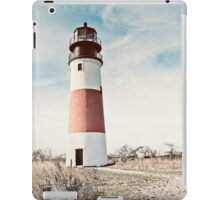 Sankaty Head Lighthouse on the island of Nantucket MA iPad Case/Skin