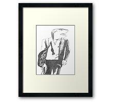 Agent Shark Framed Print