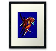 Supersonic Man Framed Print