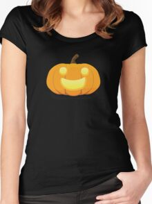 Jack O'Lantern Women's Fitted Scoop T-Shirt
