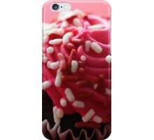 Pink Cupcake Fine Art Print iPhone Case/Skin