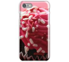 Pink Cupcake Fine Art Print iPhone Case/Skin