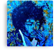 Portrait 'Jimmy' Canvas Print