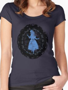 Through the Looking-Glass Women's Fitted Scoop T-Shirt