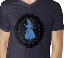 Through the Looking-Glass Mens V-Neck T-Shirt
