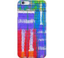 Brick Stitch in Color  iPhone Case/Skin