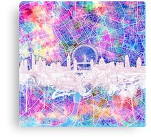 London skyline abstract 2 Canvas Print